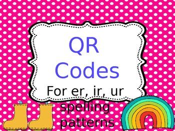 QR Code Center - er/ir/ur