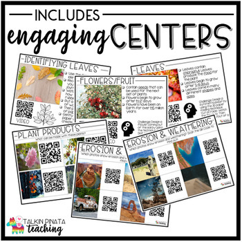 QR Code Centers: Plant Life Cycle