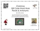 QR Code Christmas Word Work