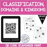QR Code Classification, Domains, Kingdoms Scavenger Hunt