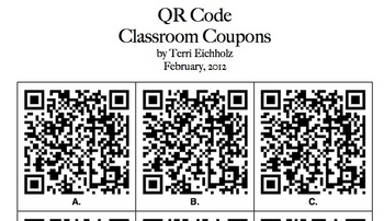 QR Code Classroom Coupons