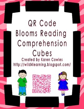 QR Code Comprehension Cubes