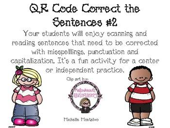 QR Code Correct Your Sentence #2