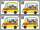 QR Code Count, Write, Scan 1-20 School Bus Kids