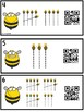 QR Code Counting Tally Marks Bees