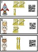 QR Code Counting Tally Marks Shooting Stars