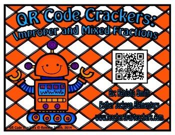 QR Code Cracker:Improper and Mixed Fractions