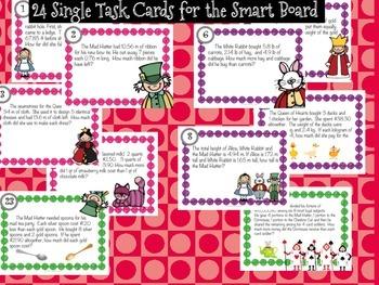 QR Code Task Cards ~ Decimal Word Problems
