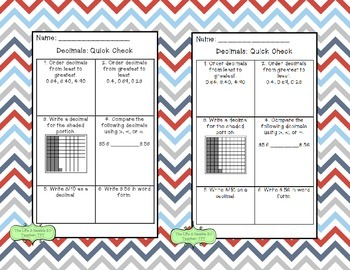 QR Code Decimal Task Cards-- All Aboard, Decimals!