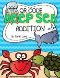 QR Code Deep Sea Addition {2 Digit Addition}