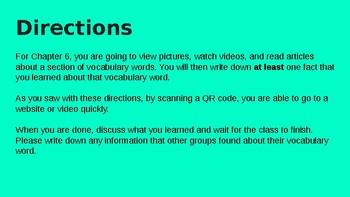 QR Code Definitions