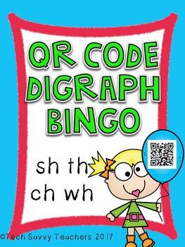 QR Code Digraph Bingo