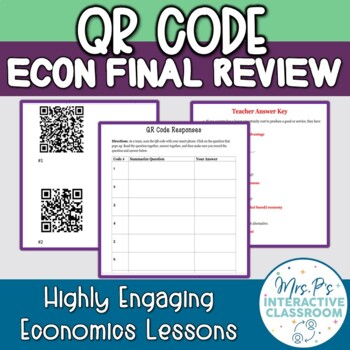 QR Code Economics Final Semester Review