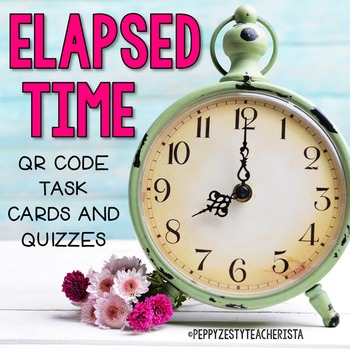 QR Code Elapsed Time and Telling Time Unit