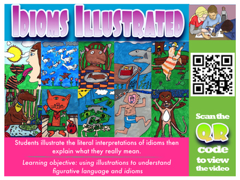 QR Code FUGLEFLICKs 10 pack Art Related Student Created Videos