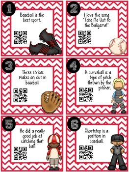 QR Code Fact and Opinion Activity