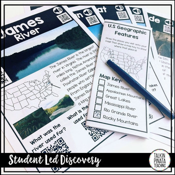QR Code Field Trip: US Geographic Features