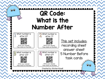 QR Code: Finding the number after