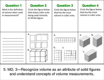 QR Code Foldables-Grade 5 Measurement & Data Common Core aligned