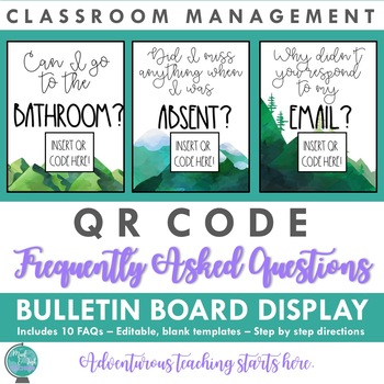 QR Code Frequently Asked Questions (FAQs):  Classroom Management System
