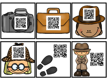 QR Code Fry Words 1-100 Reading Detectives