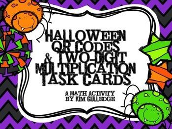QR Code Fun: 2-Digit Multiplication Task Cards - 4.NBT.5 & 5.NBT.5