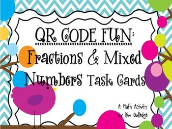 BUNDLE!!! QR Code Fun: Adding and Subtracting Fractions &