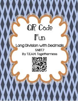 QR Code Fun: Long Division With Decimals