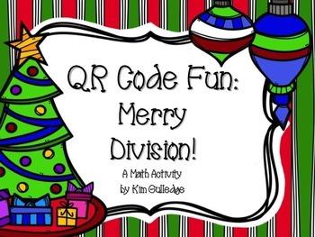 QR Code Fun: Merry Division! Task Cards 4.NBT.6