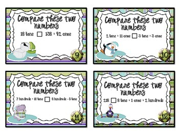 QR Code Fun: Winter Place Value Task Cards 2.NBT.4