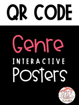 QR Code Genre Posters: Interactive Bulletin Board