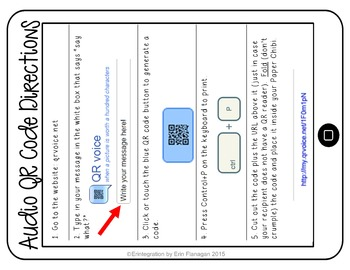 FREE Audio QR Code Guide - How to make talking audio QR codes for any text