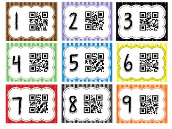 QR Code High Frequency Words