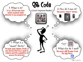 QR Code How To Poster Back to School