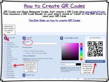 How to Create QR Codes Freebie!