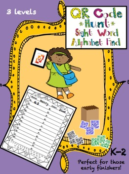 QR Code Hunt: A Sight Word Activty for Those Early Finishers