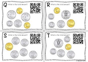 QR Code Hunt - Adding Australian Coins (up to $10)