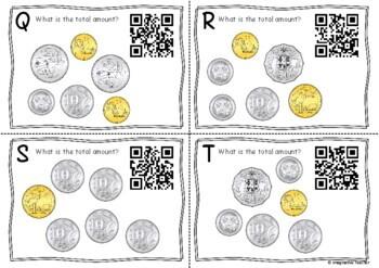 QR Code Hunt - Adding Australian Coins (up to $10)