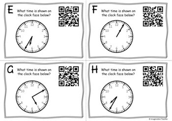 QR Code Hunt - Time (5 Minute Increments)