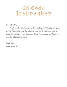 QR Code Ice Breakers