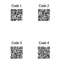 QR Code Interrogative French Practice Activity
