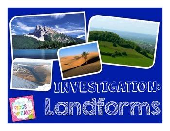 QR Code Investigation: Landforms
