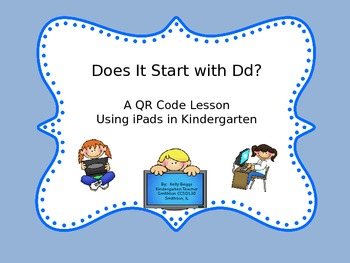 QR Code Lesson - Does it Start With Dd