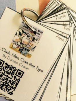 QR Code Listen to Reading Book Rings