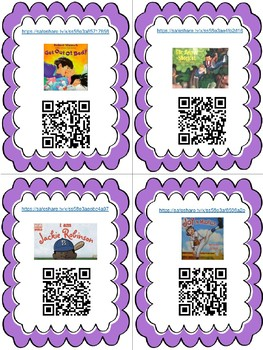 QR Code Listening Books for Spring/Summer LINKS TOO!