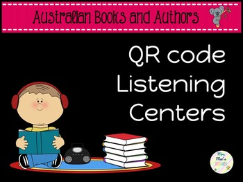 QR Code Listening Centre - Australian Books and Authors