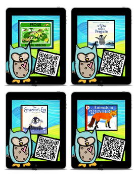 QR Code Listening Center (Common Core Aligned)- Animals!