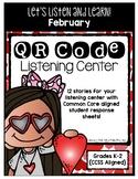 QR Code Listening Center (Common Core Aligned) - February
