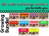 QR Code Listening Center For the Year! (Bundle and Save)