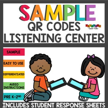 Listening Center Freebie QR Codes